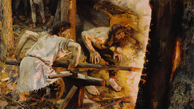 The Forging of the Sampo, A. Gallen-Kallela, 1893